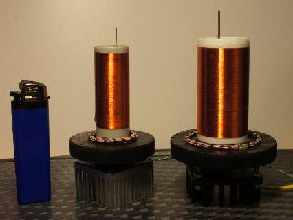 Miniatur Teslaspule